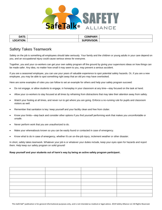 safetalk-safety-alliance-weekly